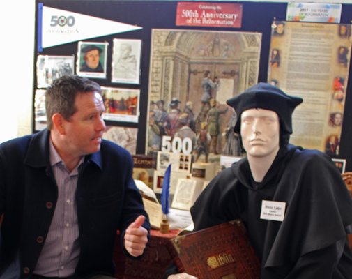 Andrew Broad Martin Luther Bible Museum 2